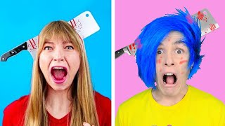 EPIC PRANK WARS 10 Funny Pranks on Friends  Family And More Funny Situations by Crafty Panda