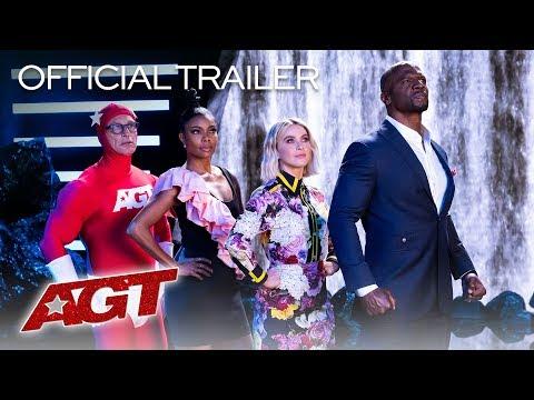 New Stars, New Talent, New AGT Season! - America's Got Talent 2019 (видео)