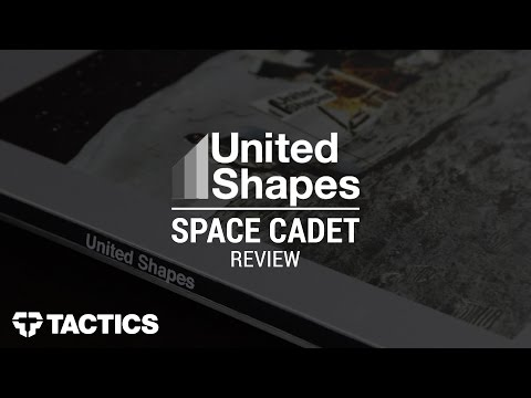 United Shapes Space Cadet Snowboard Review – Tactics.com
