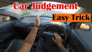 How To Judge Left Side Of A Car || Simple Trick