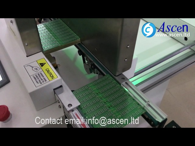 automatic SMT PCB stacker push up stacker from ASCEN team