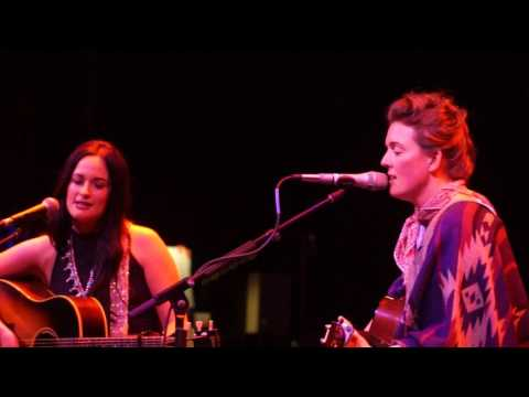 "Brandi Carlile and Kacey Musgrave ""Angel From Montgomery"""