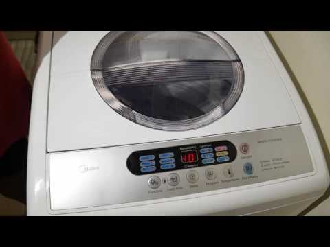 Walmart Midea washing machine washer mae50 model review