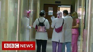"""Wenezuela: """"Zmuszeni do pracy"""" jako sanitariusze walczący z Covidem – BBC News-wiadomosc w j.angielskim"""