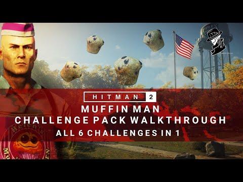 HITMAN 2 | Muffin Man Challenge Pack | All 6 Challenges in 1 | Whittleton Creek