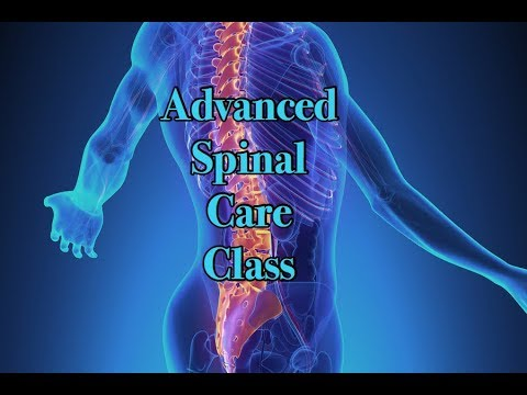 Advanced Spinal Care Class