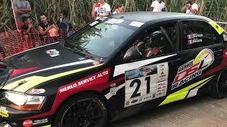 Départ Lancer Evo 9- E.S Bellevue-Rallye Régionale Sud Réunion 2018