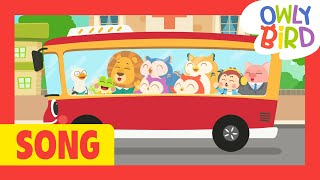 Wheels On The Bus - Animal Ver. 🚍🦁🐵🐸🐷🐵  | How do animals sound? | Nursery Rhymes | Songs For Kids