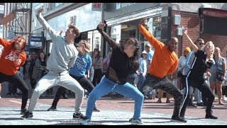 Three Incredible 80s Flash Mobs in Sleepy Seaside Town!