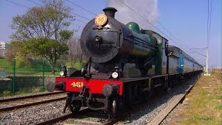 preview picture of video 'RPSI Loco 461 - Easter Shuttle, Blackrock, Dublin'