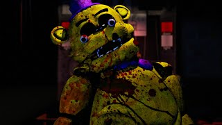 A HUMAN WAS STUFFED INTO FREDBEAR 2.0.. HIS EYES POPPED OUT. | FNAF Bloody Nights at Freddy's