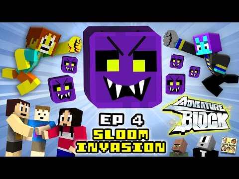 Adventure Block – Episode 4 – The SLOOM INVASION (Season 1 Finale | FGTEEV MINECRAFT MINI-SERIES)