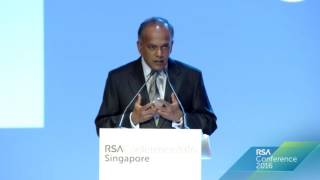 <strong>Opening Address by Mr K Shanmugam</strong>