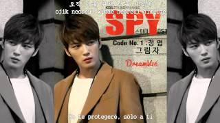 Jung Yup - Shadow (Sub español) [Spy OST 1] [Han-Rom] Versión completa