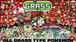 Every Grass Type Pokémon
