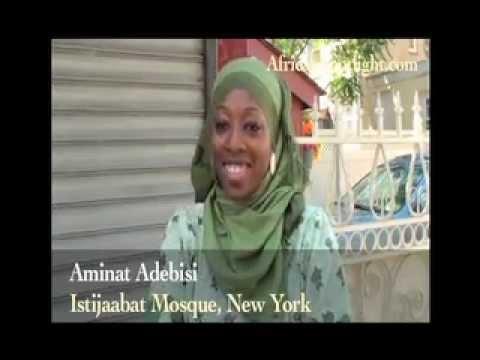 Nigerian Muslims Celebrate Ramadan In New York - Reacted To Boko Haram Menace