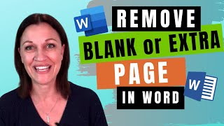 HOW TO delete extra page in Word document (5 quick fixes)