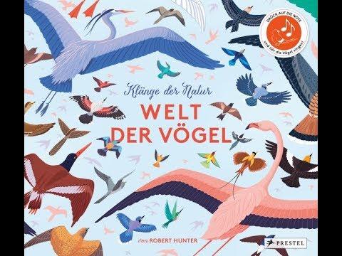 """Buchtrailer zum Kinderbuch  """"Welt der Vögel"""" vom Prestel Verlag"""