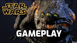 Defeating Oggdo Bogdo - Star Wars Jedi Fallen Order Gameplay