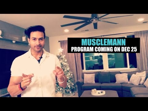 MUSCLEMANN - A Brand New CUTTING program releasing on Dec 25 | Guru Mann & T-Series