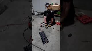Short-Circuiting a 117V Supercapacitor