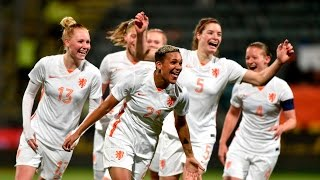 Highlights: Zwitserland - OranjeLeeuwinnen (02/03/2016) OS 2016-kwalificatie