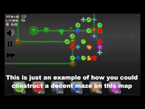 Video of Robot Defense: Maze it!