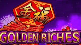Jackpot Jump Golden Riches Slot - ALL BONUS FEATURES!