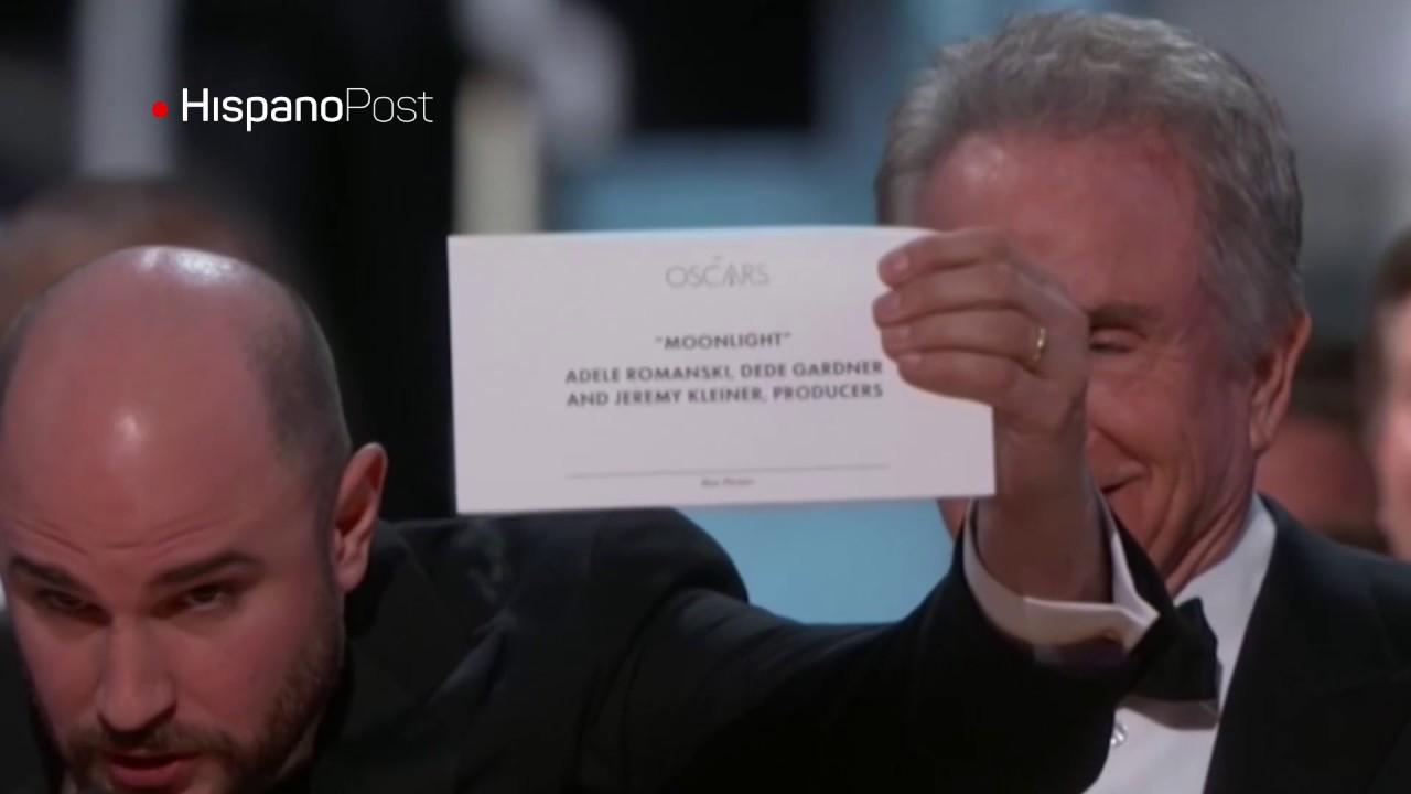 Empresa auditora de Los Oscar se disculpa por error en la gala