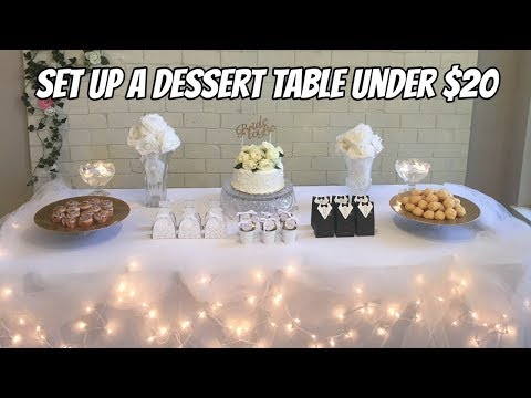 mp4 Decoration Of Cake Table, download Decoration Of Cake Table video klip Decoration Of Cake Table