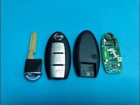 замена батарейки в смарт ключе ниссан / Nissan Key Battery Replacement