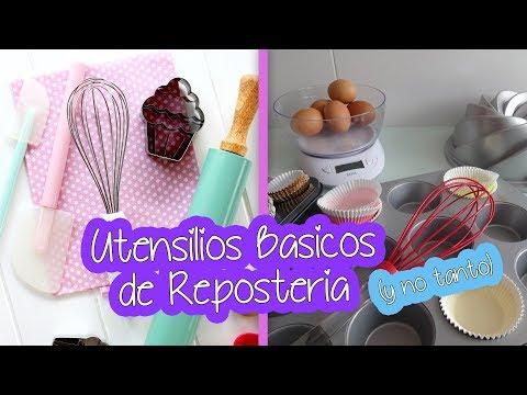 UTENSILIOS BASICOS PARA REPOSTERIA │ Vainilla Crocante