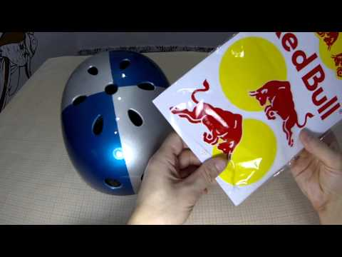 How to make a Red Bull helmet