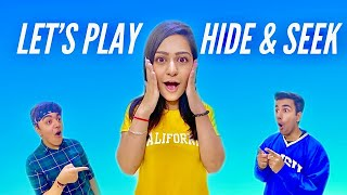 Watch LET'S PLAY HIDE & SEEK TOGETHER CHALLENGE