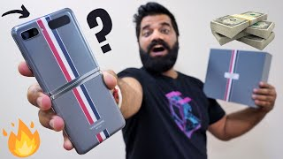 Unboxing The Most Expensive Samsung Smartphone - Thom Browne Galaxy Z Flip🔥🔥🔥