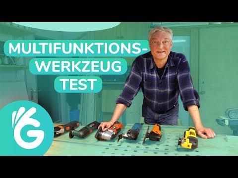 Multifunktionswerkzeug Test – 6 Geräte im Vergleich