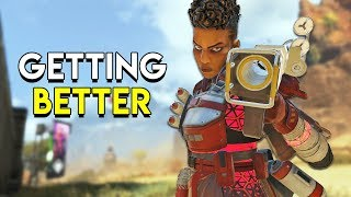 Getting Better at Apex Legends!
