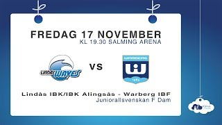DJ17: Lindås IBK/IBK Alingsås – Warberg IBF