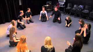 Theatre Game #14 - Frog In The Pond. From Drama Menu - Drama Games & Ideas For Drama.
