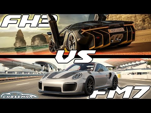 FH3 VS FM7! Which One is Better?