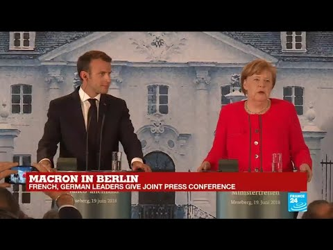 Macron, Merkel call for tighter security cooperation in the EU