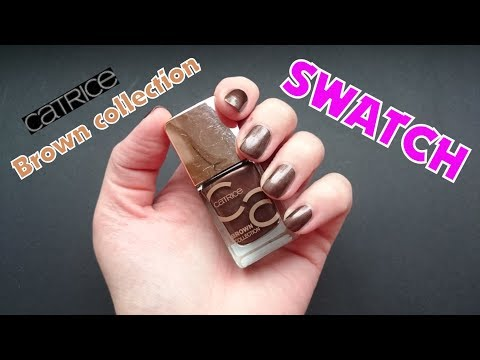 CATRICE Brown Collection | Nagellack SWATCH Video
