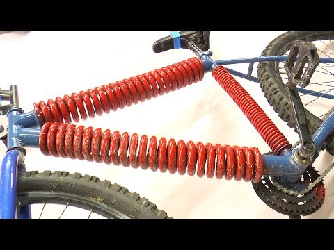 A Bicycle Made Out of Springs
