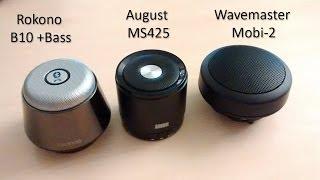 3 günstige Bluetooth Lautsprecher im Vergleich