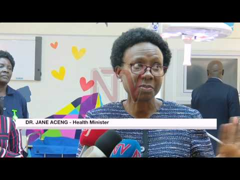 Minister Aceng launches children's theatres at Mulago hospital