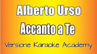 Karaoke Italiano    Alberto Urso    Accanto A Te