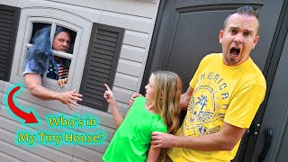 Homeless Man Found Living in Our Tiny House!!!
