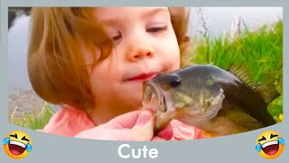 BABY MEET FISH FOR THE FIRST TIME #2