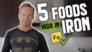 5 Iron-Rich Fitness Foods | LiveLeanTV