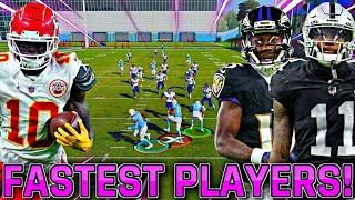 KICK RETURN CHAOS - FASTEST PLAYERS IN THE WORLD EDITION!!